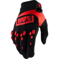 100% Airmatic Gloves 2018 - Black/Red