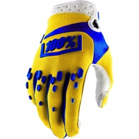 100% Airmatic Gloves 2018 - Yellow