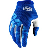 100% iTrack Gloves 2018 - Blue