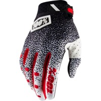 100% Ridefit Gloves 2018 - Black/White