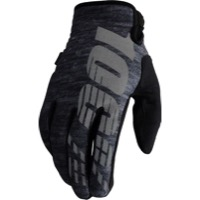 100% Brisker Gloves - Heather Gray