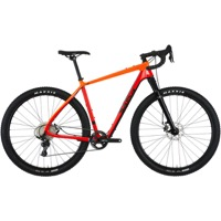 Salsa Cutthroat Carbon Apex 1 Complete Bike 2018 - Red/Dark Orange