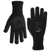 Showers Pass Crosspoint Waterproof Knit Gloves - Black