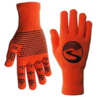 Showers Pass Crosspoint Waterproof Knit Gloves - Safety Orange
