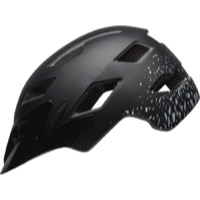 Bell Sidetrack Youth Helmet 2019 - Matte Black/Silver Fragments