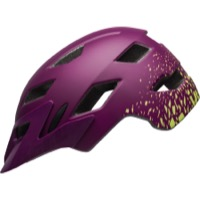 Bell Sidetrack Youth Helmet 2018 - Matte Plum/Pear Fragments