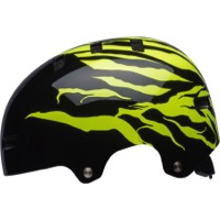 Bell Span Youth Helmet 2018 - Gloss Black/Retina Sear Stoked