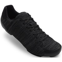 Giro Republic R Knit Road Shoes 2018 - Black/Charcoal Heather