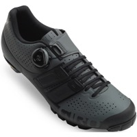 Giro Code Techlace Mountain Shoes 2020 - Dark Shadow/Black