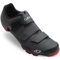 Giro Privateer R Mountain Shoes 2018 - Dark Shadow/Red