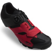 Giro Cylinder Mountain Shoes 2020 - Dark Red/Black