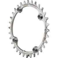 Wolf Tooth Elliptical Drop-Stop SS Chainring - 104mm BCD