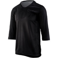 100% Airmatic 3/4 Sleeve Jersey - Black