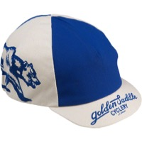 All-City CALI Cycling Cap - Blue/White