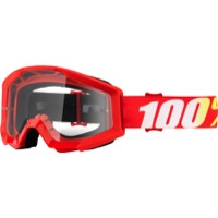 100% Strata Goggles - Furnace/Clear Lens