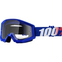 100% Strata Goggles - Nation/Clear Lens