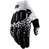 100% Celium 2 Gloves 2018 - Metal/White