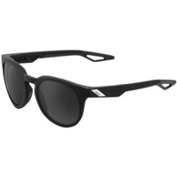 100% Campo Sunglasses - Soft Tact Black/Grey PeakPolar Lens