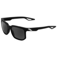 100% Centric Sunglasses - Soft Tact Black/Grey PeakPolar
