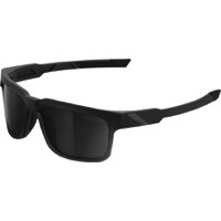 100% Type S Sunglasses - Soft Tact Black/Smoke Lens