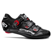 Sidi Genius 7 Carbon Road Shoes 2018 - Black/Black