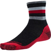 Swiftwick Pursuit Four Ultra Light Socks - Coal Red