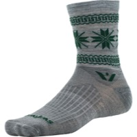 Swiftwick Vision Five Winter Collection Socks - Heather Green