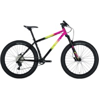 All-City Electric Queen Complete Bike - Green/Pink/Black and Splatter