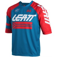 Leatt DBX 3.0 Short Sleeve Jersey - Fuel/Red