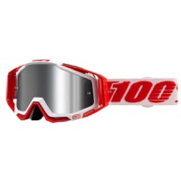 100% RaceCraft PLUS Goggles - Bilal/Silver Mirror Lens