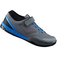 Shimano SH-AM7 All Mountain SPD Shoes 2018 - Gray/Blue