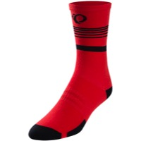 Pearl Izumi Elite Tall Socks 2018 - Rogue Red Diffuse