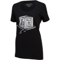 Surly Kill Your Television Women's T-Shirt - Black