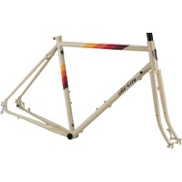 All-City Spacehorse Disc Frameset - Cream