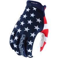 Troy Lee Air Gloves 2018 - Americana Navy/Red