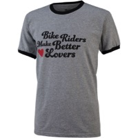 All-City Bike Riders Make Better Lovers T-Shirt - Gray