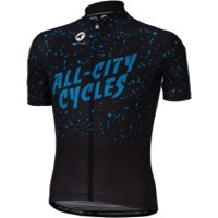 All-City Electric Boogaloo Men's Jersey - Black/Blue