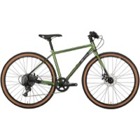 All-City Macho Man Flat Bar Disc Complete Bike - Olive Fab