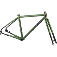 All-City Macho Man Disc Frameset 2018 - Olive Fab