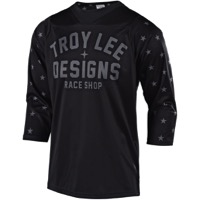 Troy Lee Ruckus Jersey 2018 - Star Black/White