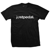 DHDwear Just Pedal T-Shirt - Black