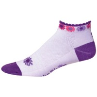 "Save Our Soles 1"" Bloom Women's Socks - Purple"