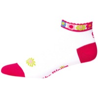 "Save Our Soles 1"" Bloom Women's Socks - Fuchsia"