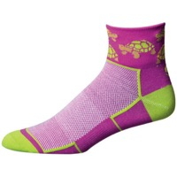 "Save Our Soles 2.5"" See Turtle Women's Socks - Purple"