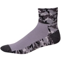 "Save Our Soles 2.5"" Camo-Night Ops Socks - Grey"