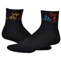 "Save Our Soles 2.5"" Joy Ride Socks - Black"
