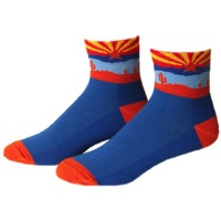"Save Our Soles 2.5"" Arizona Socks - Blue"
