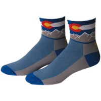 "Save Our Soles 2.5"" Colorado Socks - Blue"