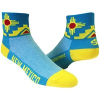 "Save Our Soles 2.5"" New Mexico Socks - Turquoise"