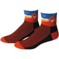 "Save Our Soles 2.5"" Utah Socks - Orange"
